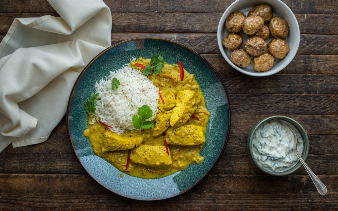 Halibut Curry
